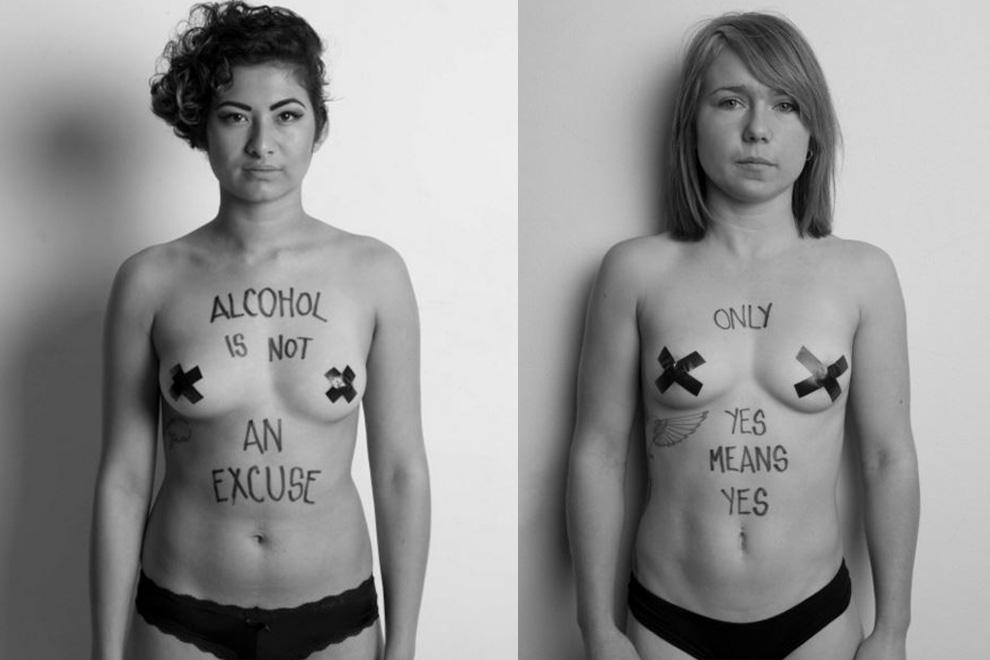 Fotografin protestiert mit Fotostrecke gegen sexuelle Gewalt