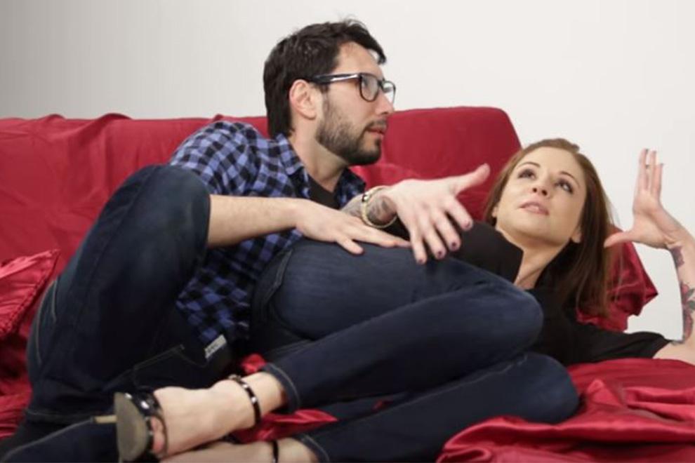 Pornodarsteller zeigen die heißesten Sex-Stellungen