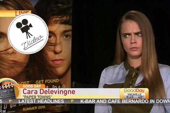 Cara Delevingne gibt patziges Interview