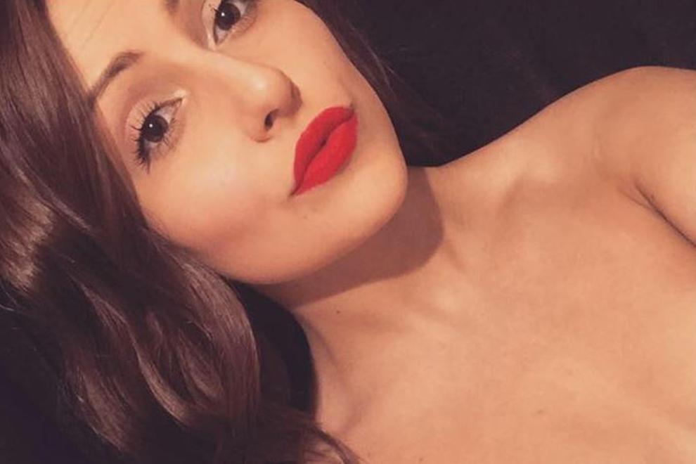 Amber Smith lässt ein Selfie sprechen