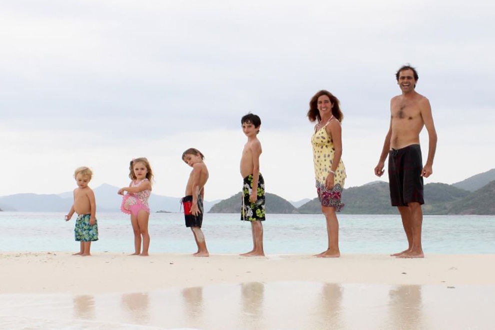 Diese Familie reist seit 17 Jahren um die Welt