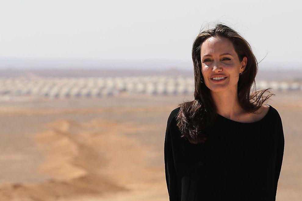 Angelina Jolie kritisiert Trumps Einreiseverbote
