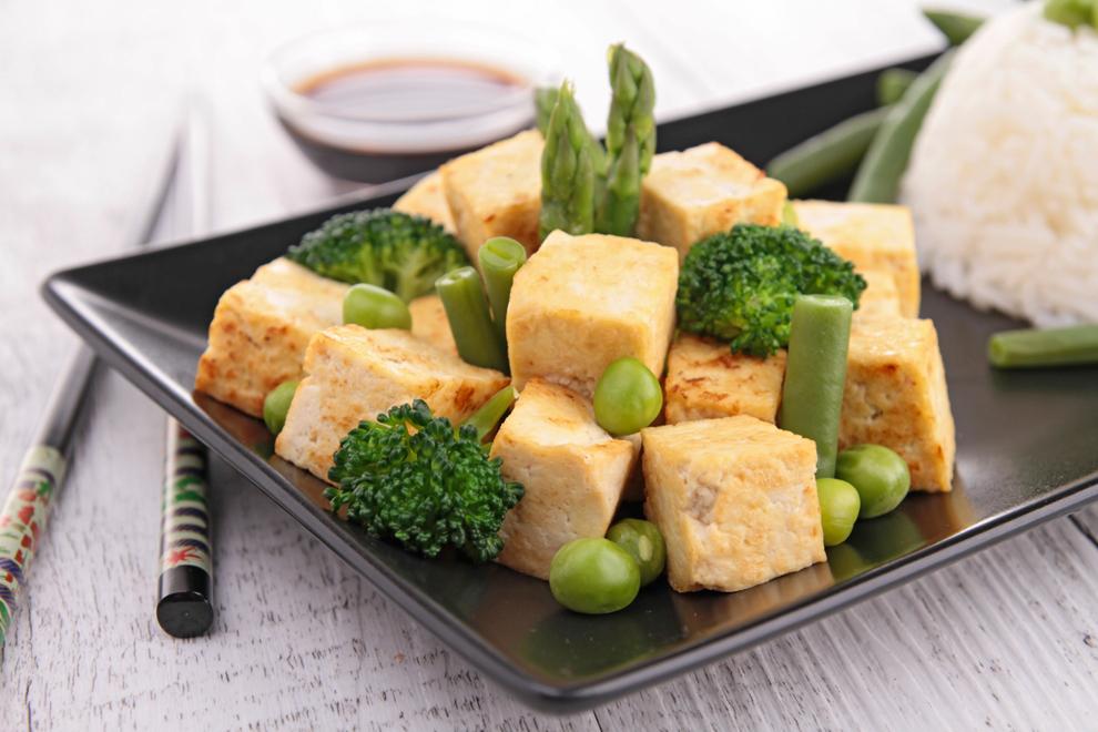 Tofu-Brokkoli-Pfanne