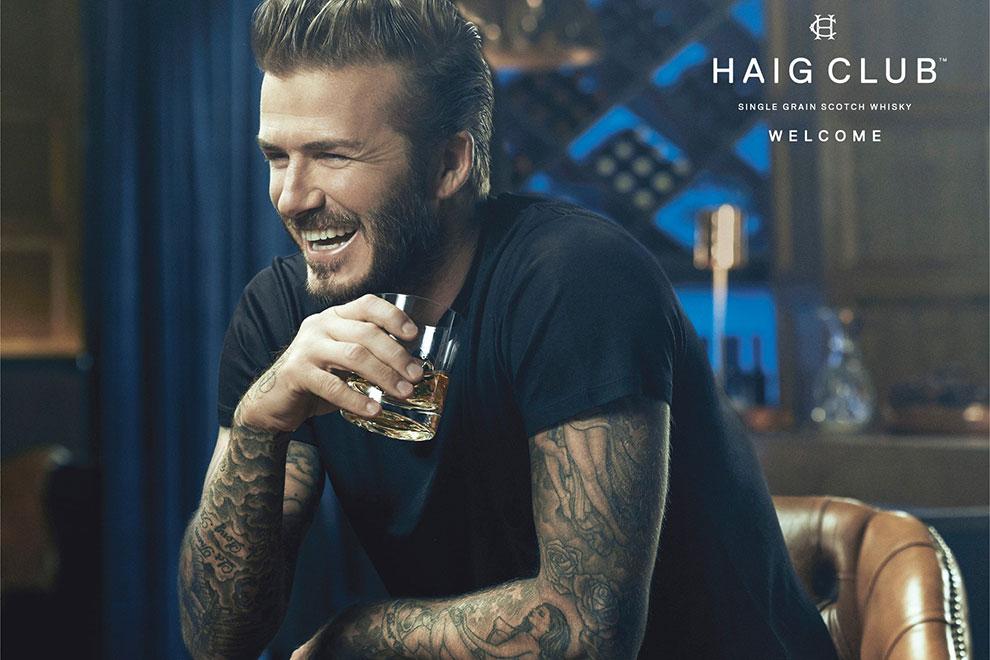David Beckham präsentiert seinen persönlichen Whisky