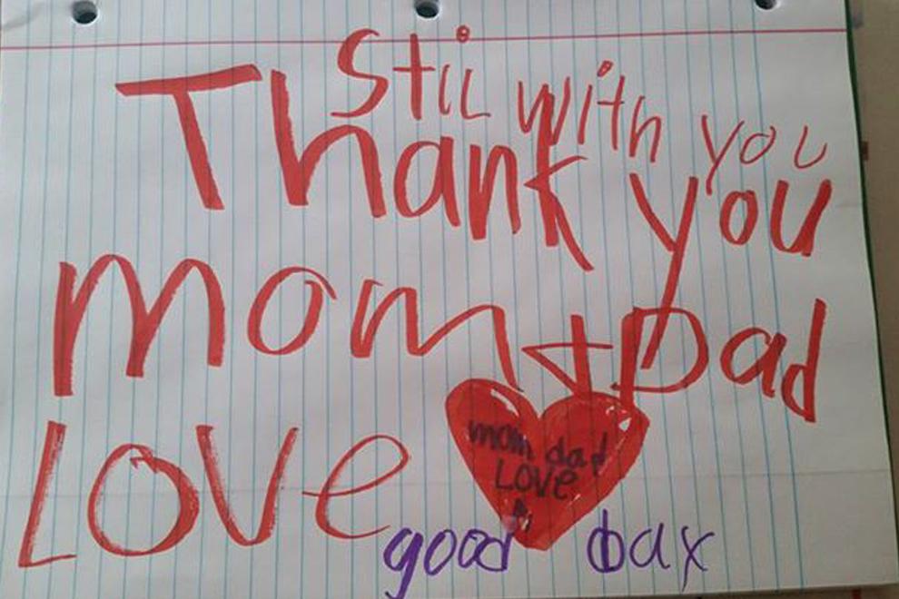 Eltern abschiedsbrief an Abschied in