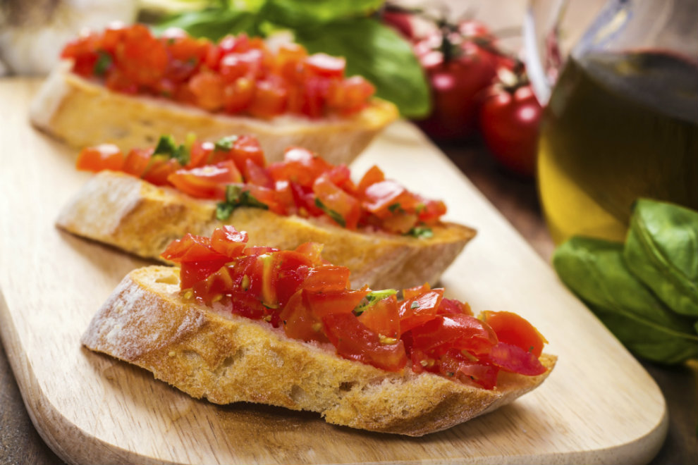 La Bruschetta italiana