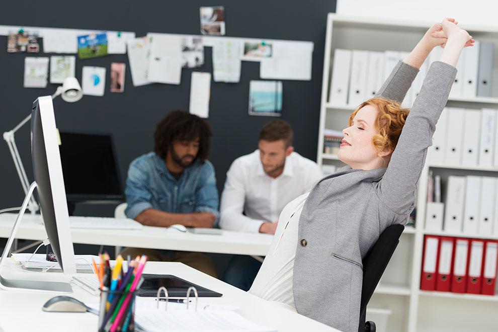 Fitness-Tipps fürs Büro
