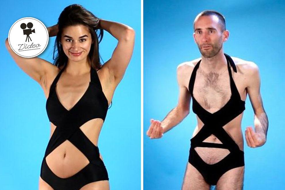 So fühlen sich Männer, wenn sie Bikinis tragen