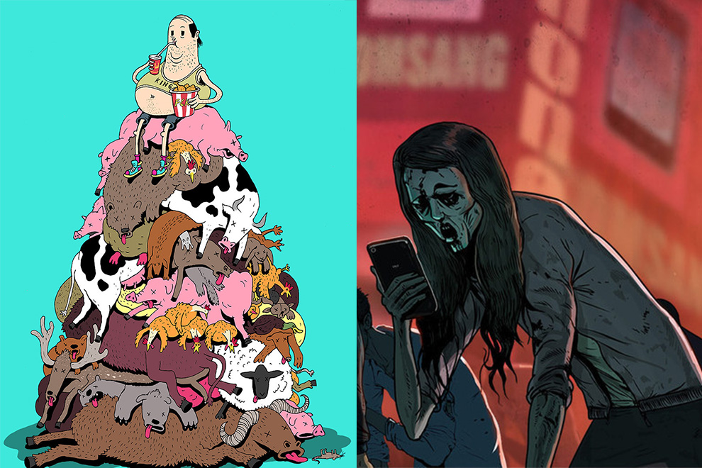 Dieser Künstler zeigt, wie die moderne Gesellschaft wirklich ist