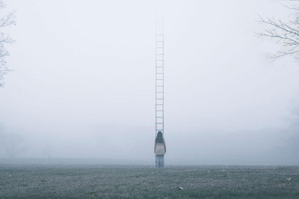 Mit diesen Bildern beschreibt ein Künstler seine Depression