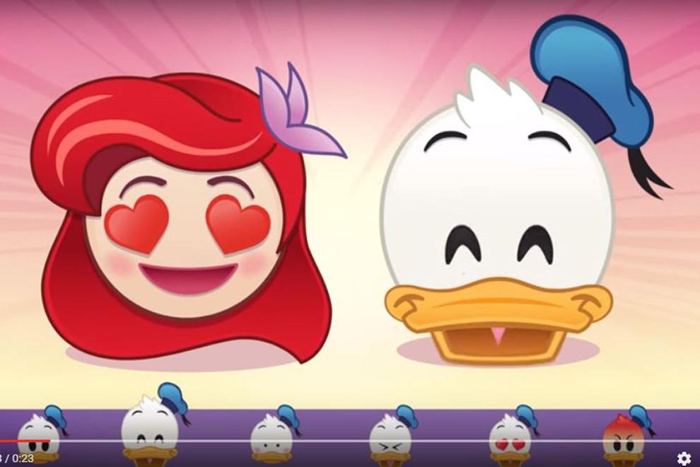Arielle, Minnie Maus, Donald Duck und Co. gibt es jetzt als Emojis