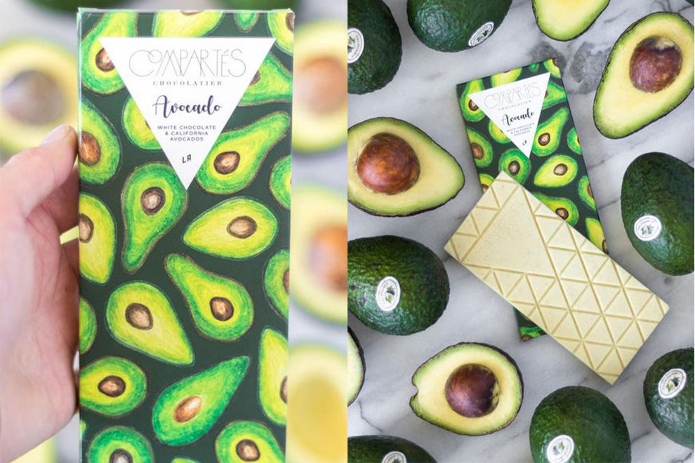 Ja, es gibt jetzt cremige Avocado-Schoki