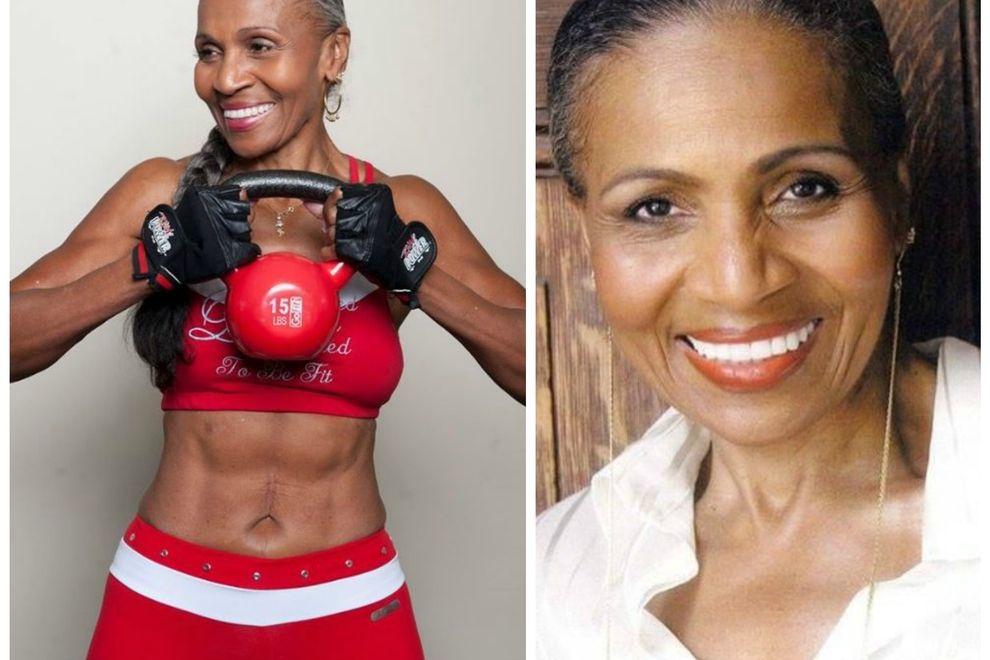 Das ist die älteste Bodybuilderin der Welt-und so alt ist sie wirklich