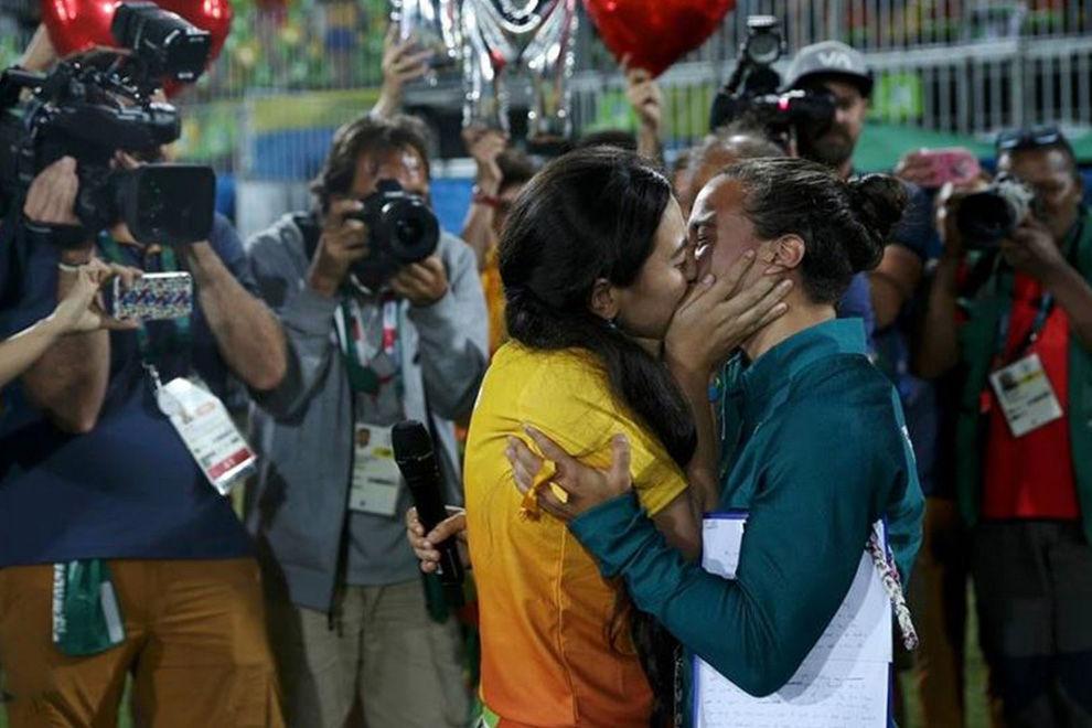 Rugby-Spielerin bekommt ersten olympischen Heiratsantrag