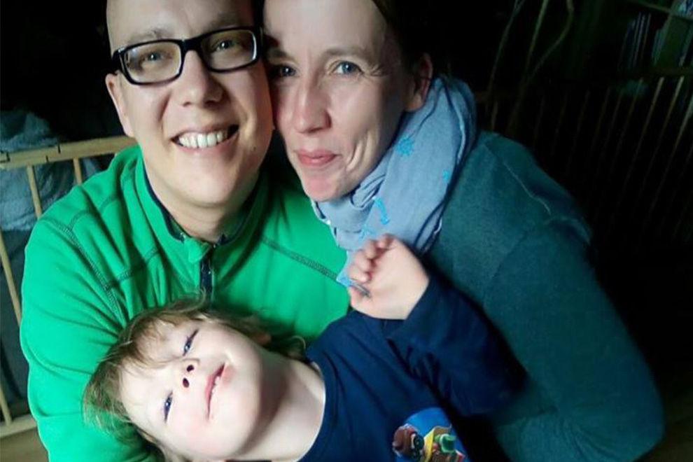 Eine Familie auf der Suche nach Stammzellen-Spendern