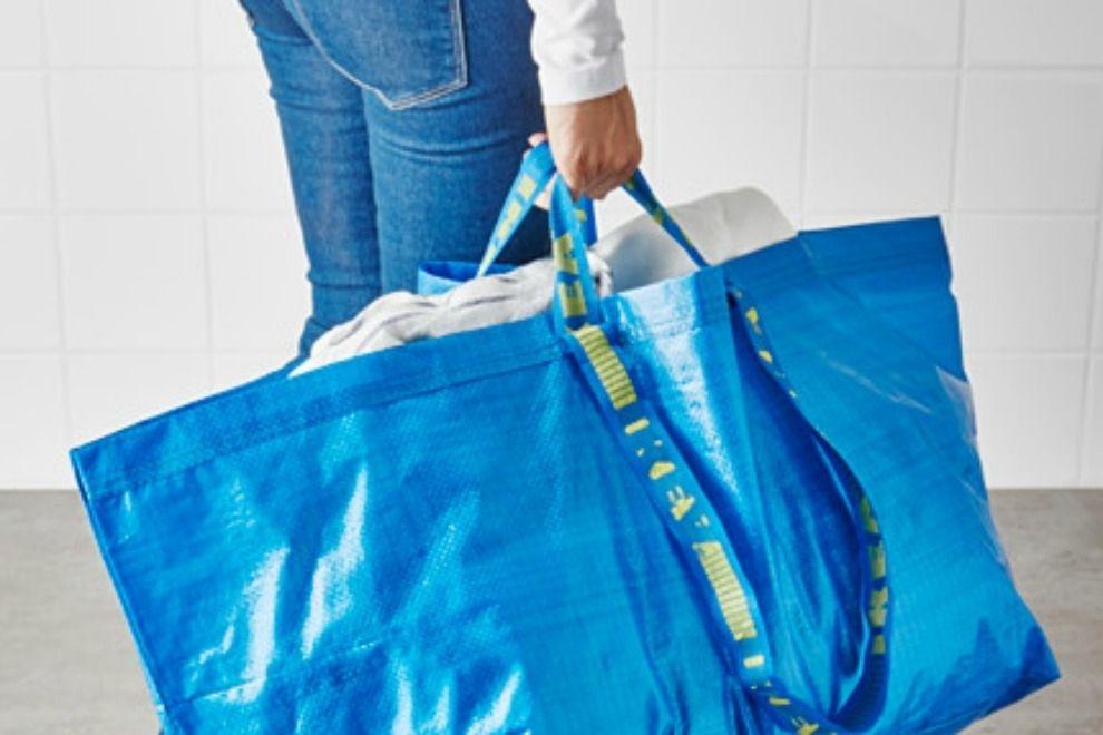 Die blaue IKEA-Tasche bekommt einen komplett neuen Look