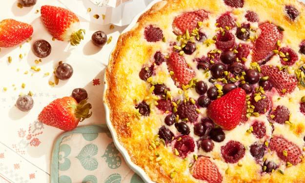 Früchte-Vanille-Quiche