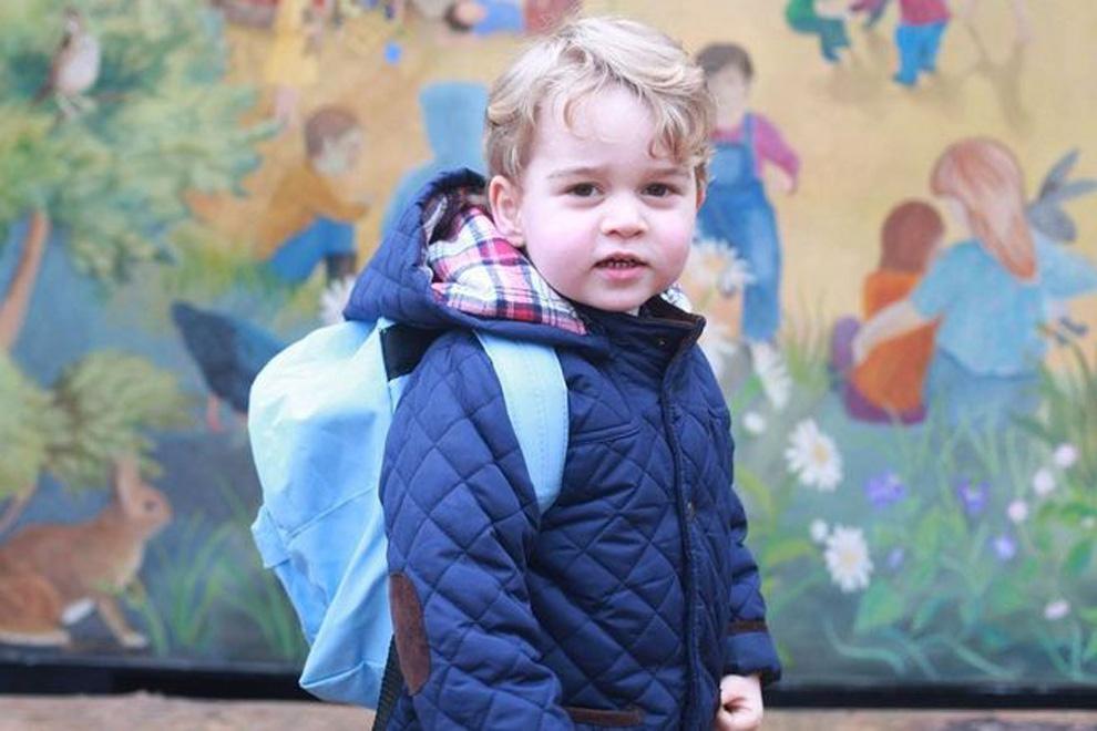 So nennt Prinz George die Queen