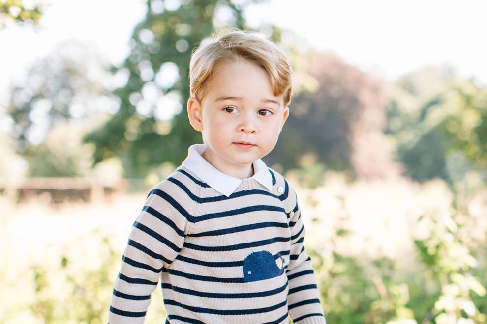 So süß ist Prinz George an seinem dritten Geburtstag!