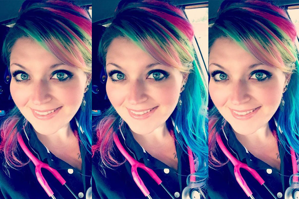 Diese Krankenschwester wird wegen ihrer Haare blöd angemacht und hat die beste Antwort