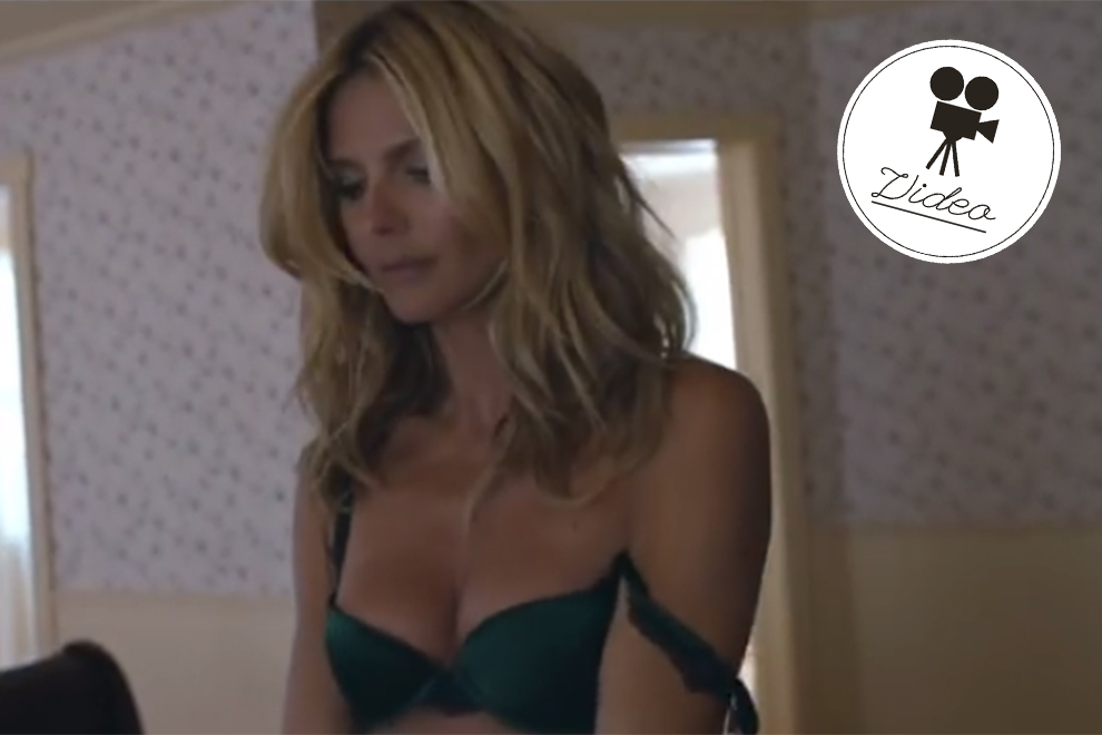 Heidi Klum promotet Wäsche-Label in Musikvideo