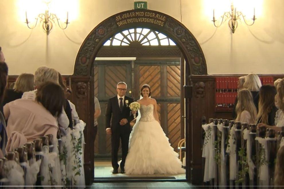 Wenn diese Braut die Kirche betritt, bleibt kein Auge trocken