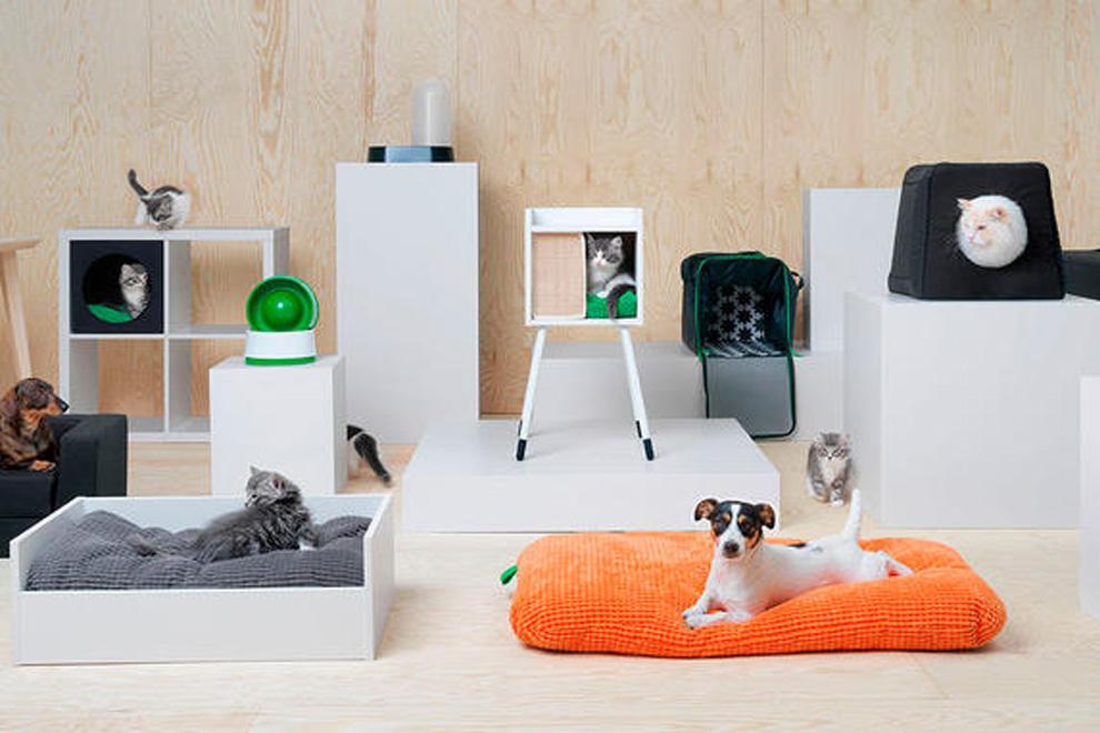 Bei IKEA gibt es jetzt auch Möbel für Hunde und Katzen
