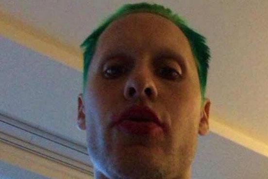 SO sieht Jared Leto als Joker aus