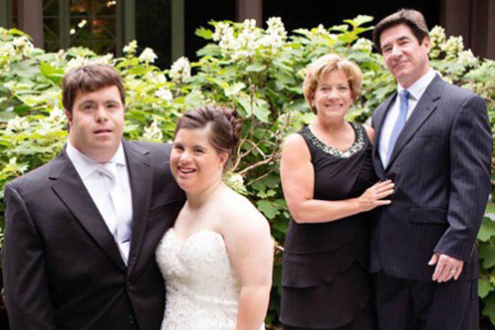 Zur Hochzeit: Dieser Vater hat eine rührende Botschaft für seine Tochter mit Down-Syndrom