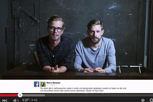 Joko & Klaas setzen Zeichen gegen Fremdenhass