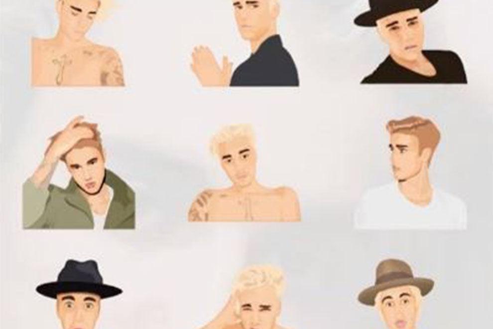 Justin gibts jetzt als Emoji