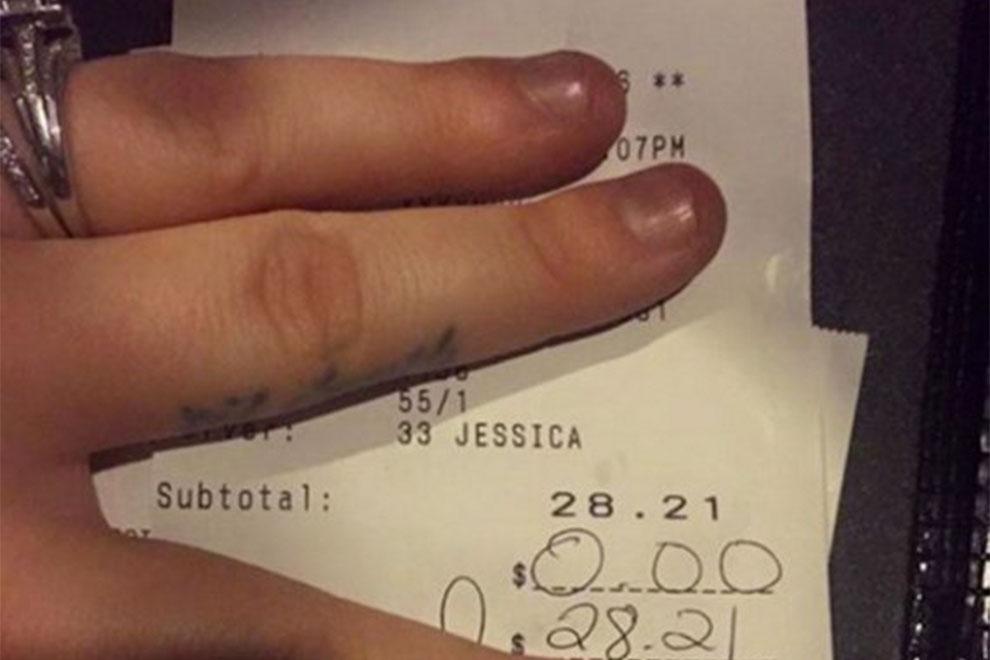 Kellnerin rechnet auf Facebook mit genervter Ehefrau ab