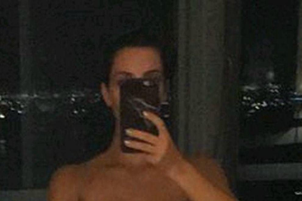 Kim Kardashian zeigt sich untenrum nackt auf Snapchat