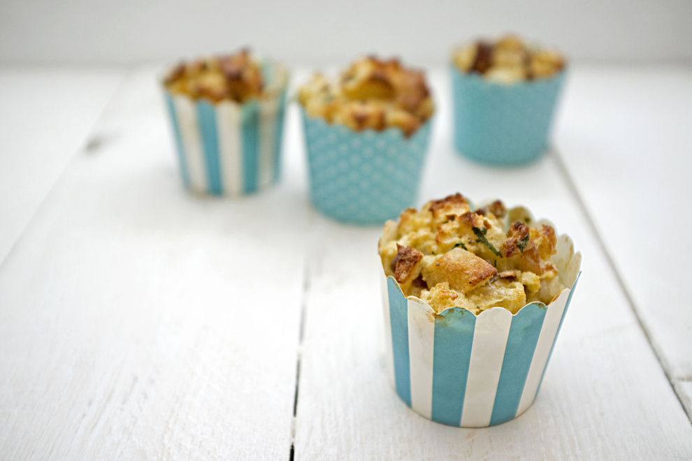 Knödel-Cupcakes