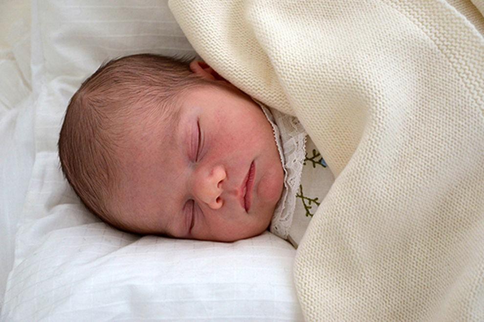 Das erste Foto von Baby Oscar ist da!