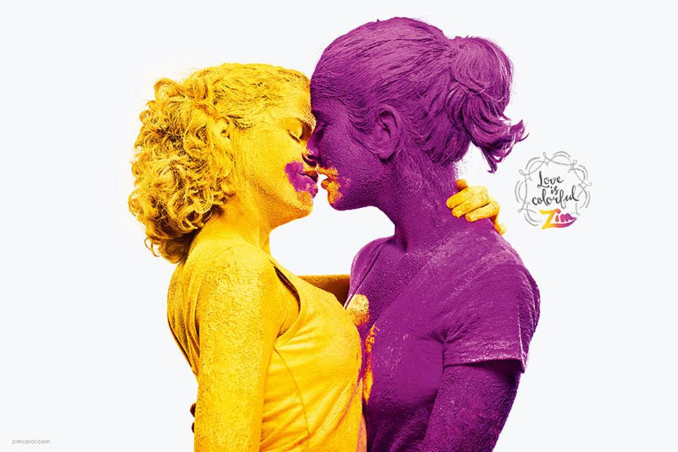 Farbenprächtige Foto-Kampagne für mehr Toleranz