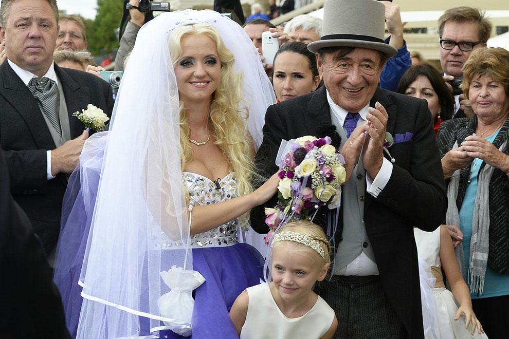 Richard Lugner heiratete Cathy Schmitz