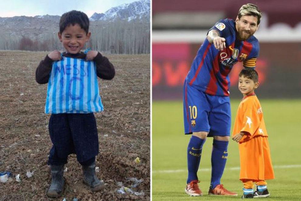 Lionel Messi erfüllt afghanischem Jungen seinen Traum