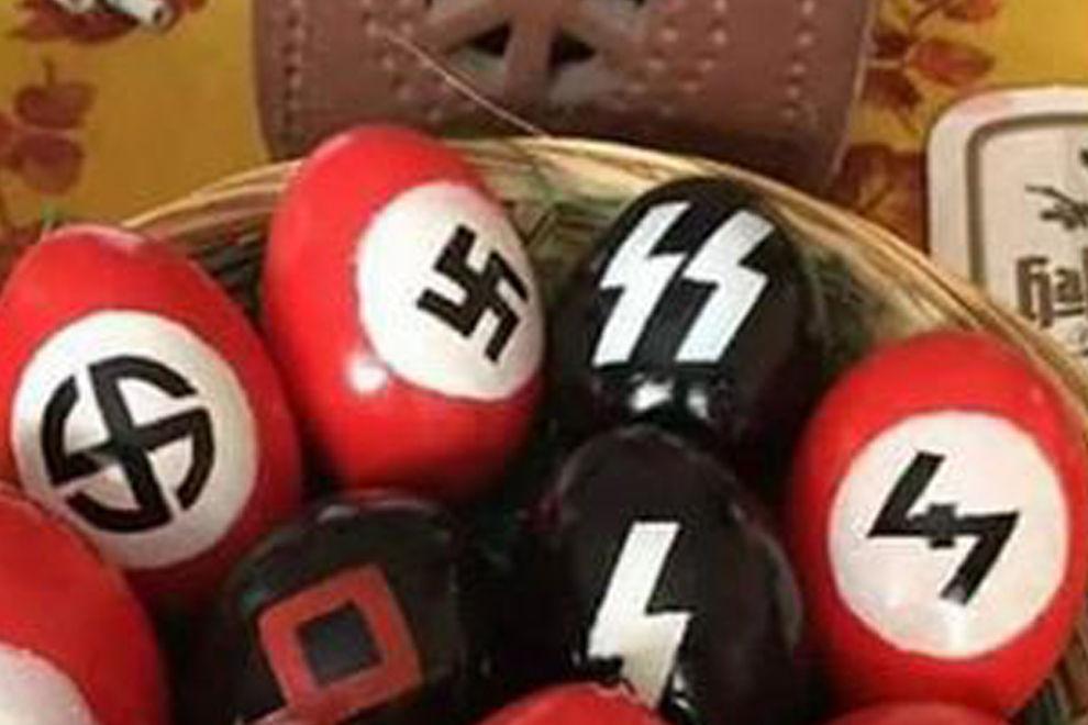Rentnerin wegen Nazi-Eiern zu Geldstrafe verurteilt
