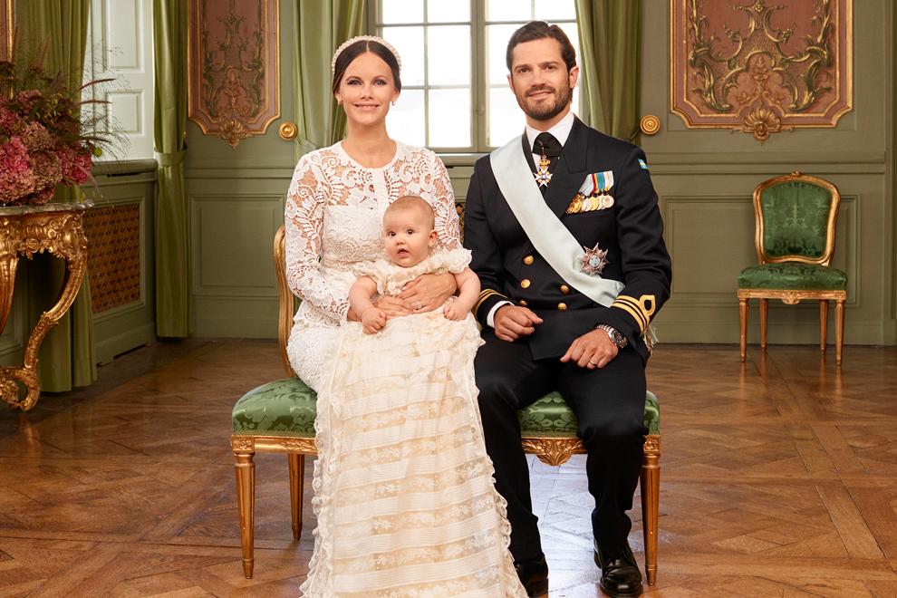 So süß sind Prinz Alexanders Taufbilder