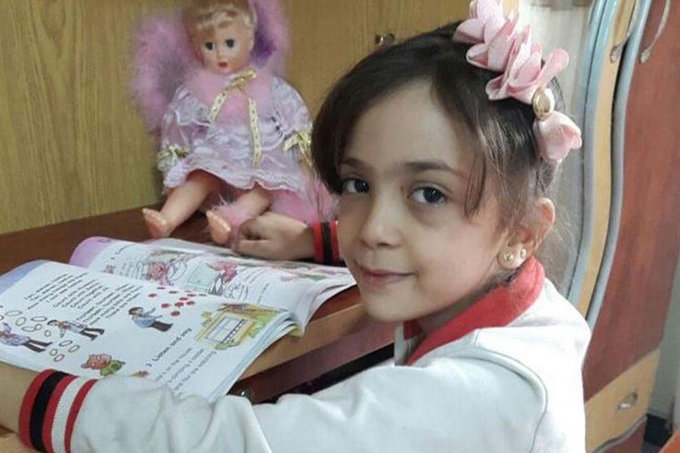 7-jähriges Mädchen twittert aus Kriegsgebiet