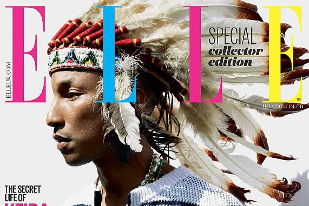 Ärger wegen indianischem Feder-Kopfschmuck