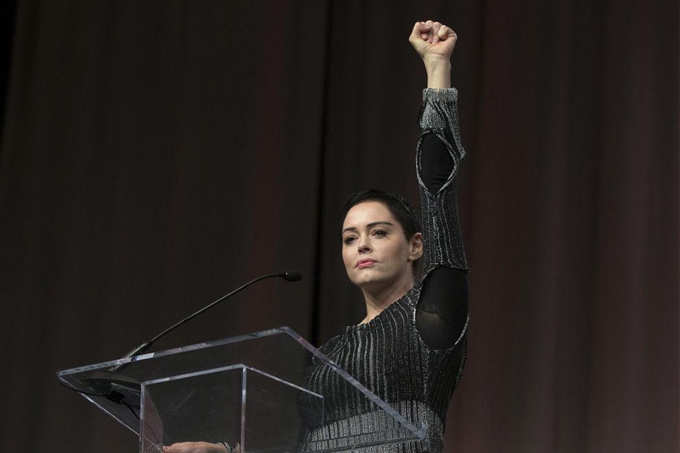 Rose McGowan ruft zum Kampf gegen sexuelle Belästigung auf