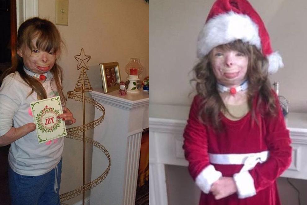 Dieses Mädchen wünscht sich einfach nur Grußkarten zu Weihnachten