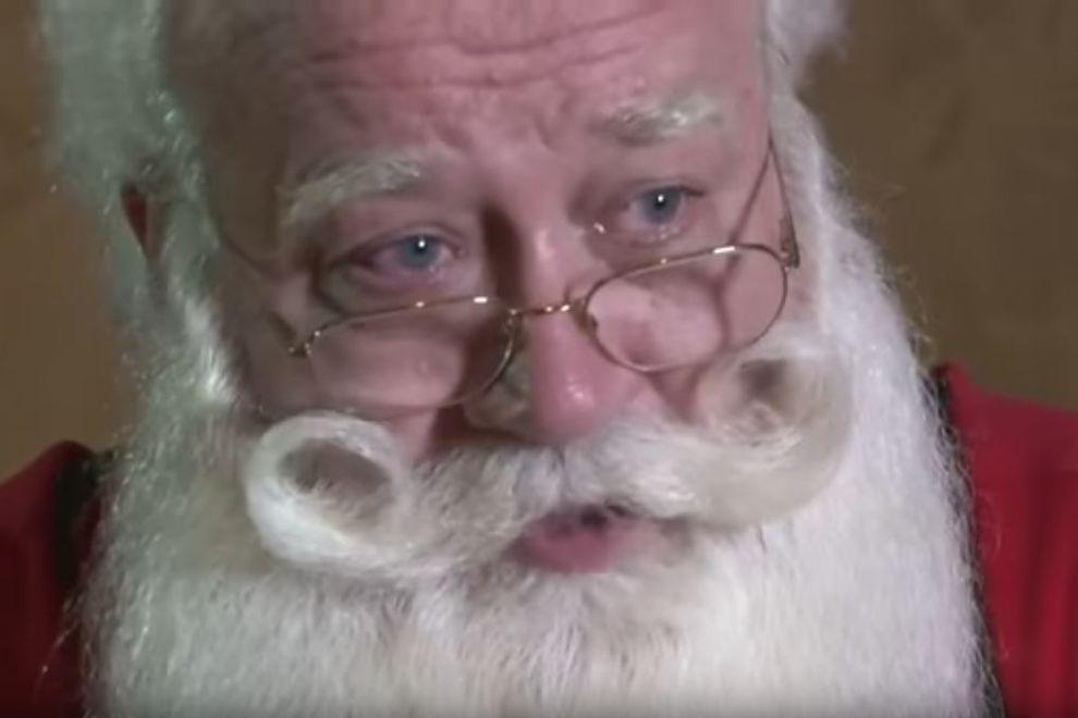 Fünfjähriger stirbt in den Armen von Santa Claus