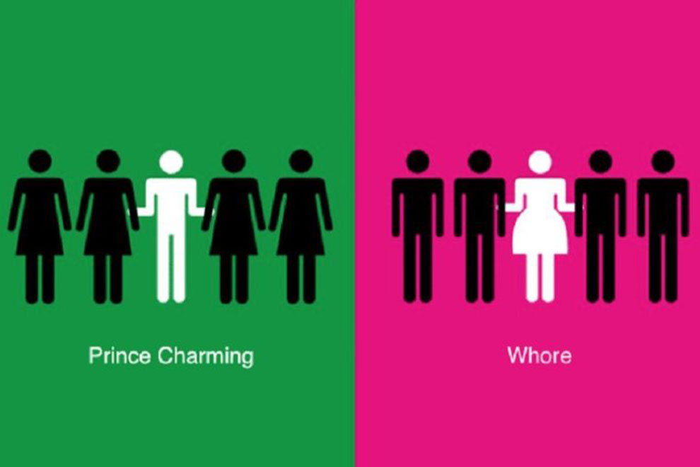 Der Unterschied zwischen Mann und Frau in Bildern erklärt