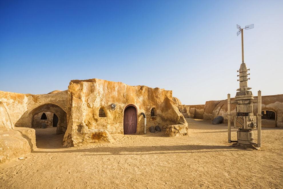 Endor und Tatooine in echt