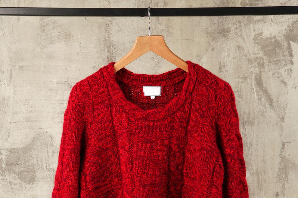 So vermeidest du ausgebeulte Pullover
