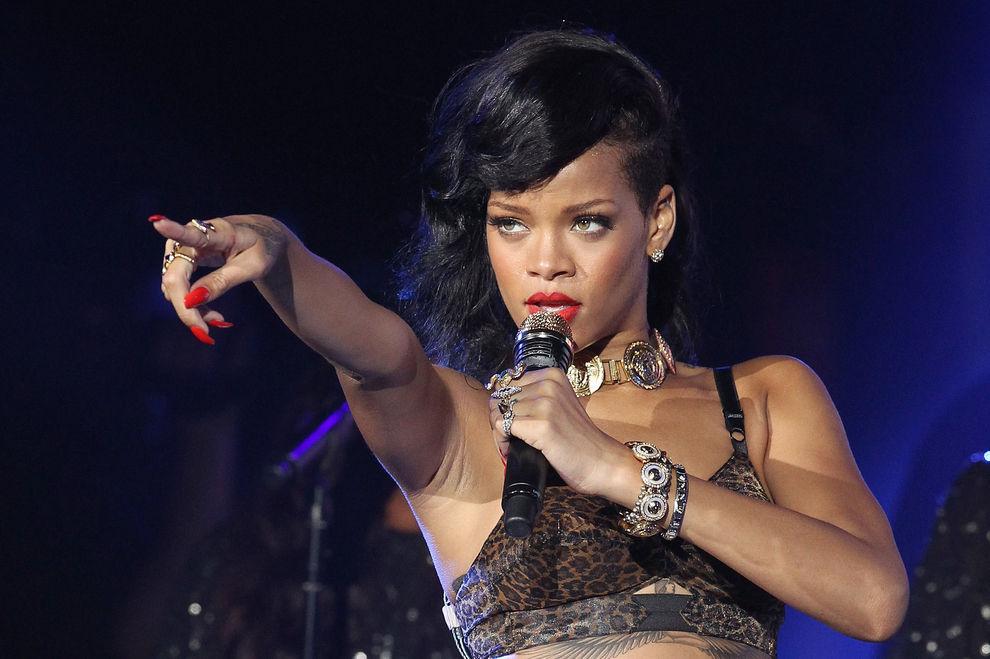 Rihanna hat wieder einen Mann an ihrer Seite