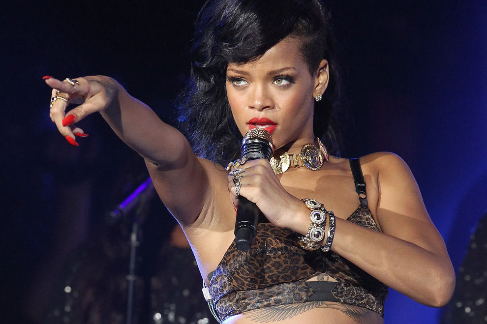 Deshalb schimpfte Rihanna bei einem Konzert ihre Fans aus